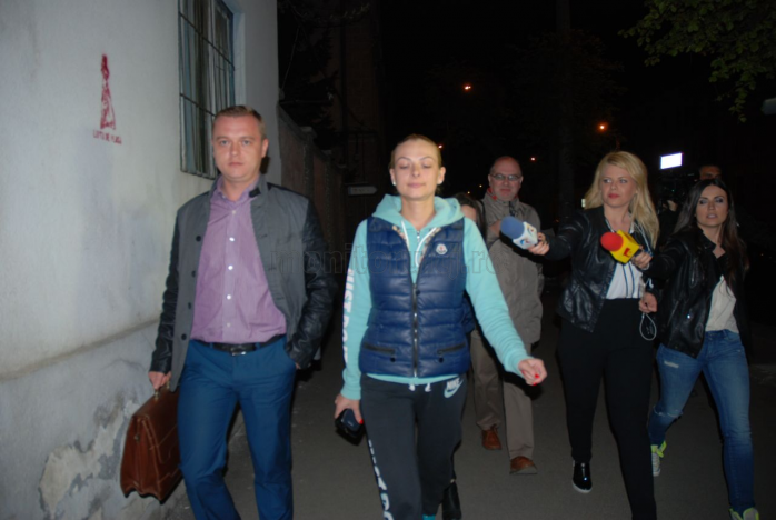 Andreea Cordoş nu a făcut nicio declaraţie la ieşirea de la DNA Cluj