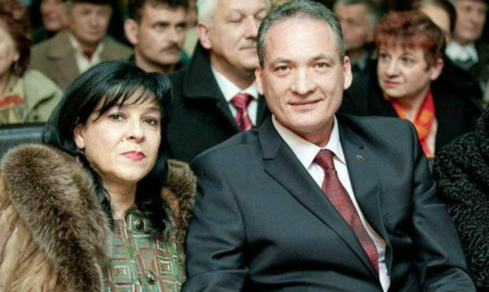 Soţii Mihaiela şi Alexandru Cordoş
