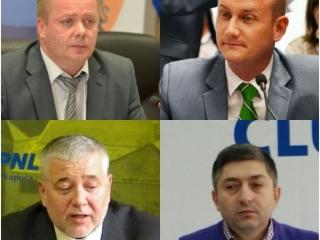 Ioan Oleleu, Mihai Seplecan, Marius Nicoară, Alin Tișe
