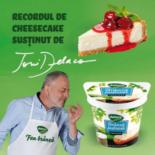 Cel mai mare cheesecake din țară, pregătit la Zilele Clujului