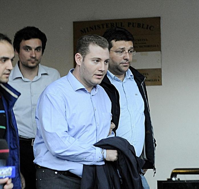 Ionuț Rudeanu, ginerele lui Vasile Blaga, a fost reținut de procurori. Foto: Sorin Lupsa, Agerpres