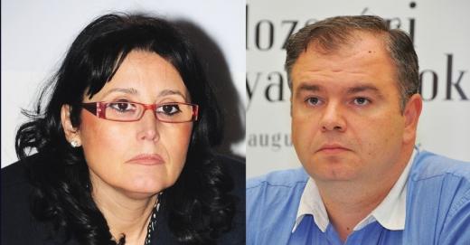 Steluţa Cătăniciu şi Mate Andras, cei mai vorbăreţi deputaţi clujeni