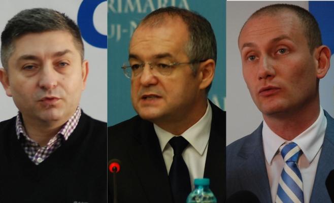 Alin Tişe, Emil Boc, Mihai Seplecan