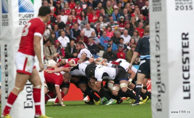 România a învins surprinzător naționala de rugby a Canadei