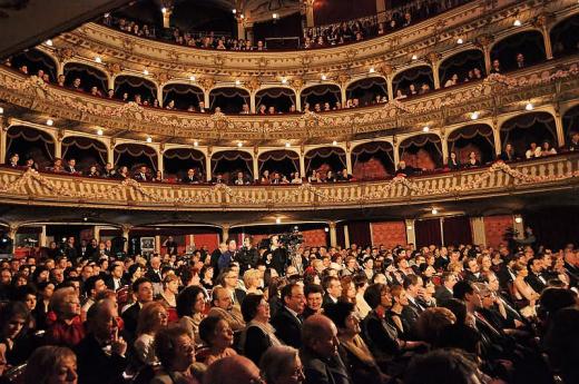 Sala Mare al Teatrului Național din Cluj