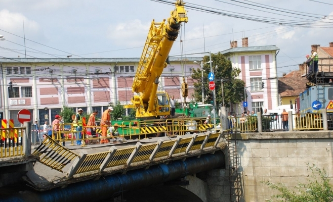 Podul Traian, veşnic reparat pe hârtie