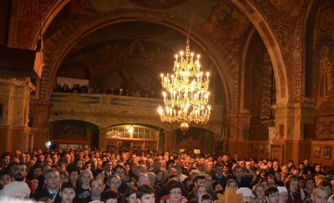 Anul nou la mănăstirea Nicula