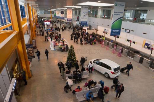 Aeroportul din Cluj-Napoca. Foto: Saul Pop