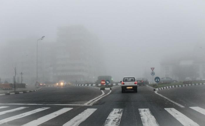 Cod Galben de ceață în Cluj
