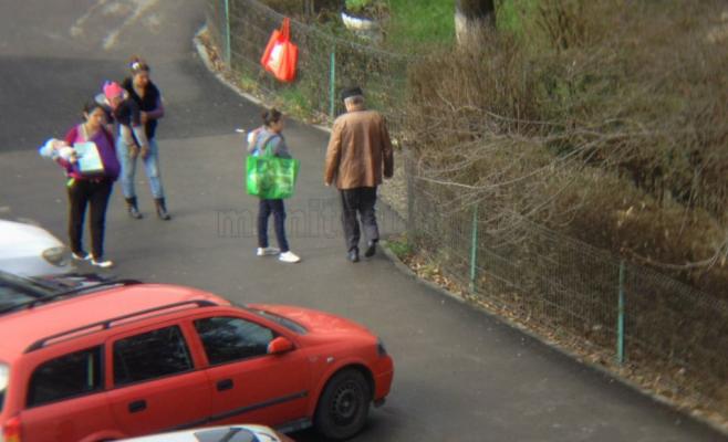 Invazie de cerşetori în Gheorgheni