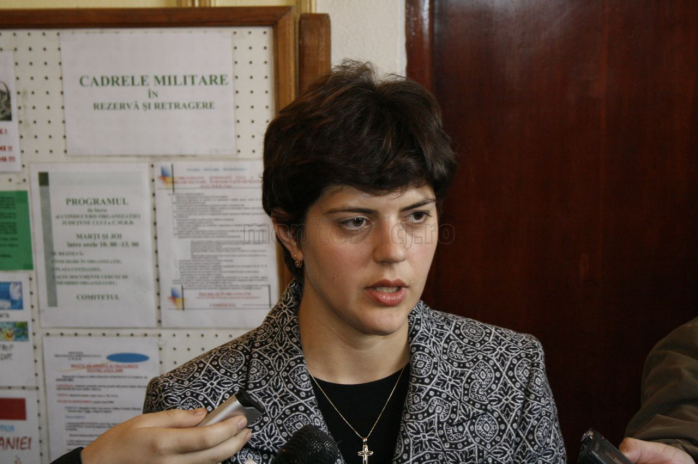 Laura Codruţa Kovesi ocupă funcţia de procurer şef al DNA din anul 2013.