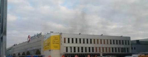 Momentul exploziilor pe aeroportul Bruxelles