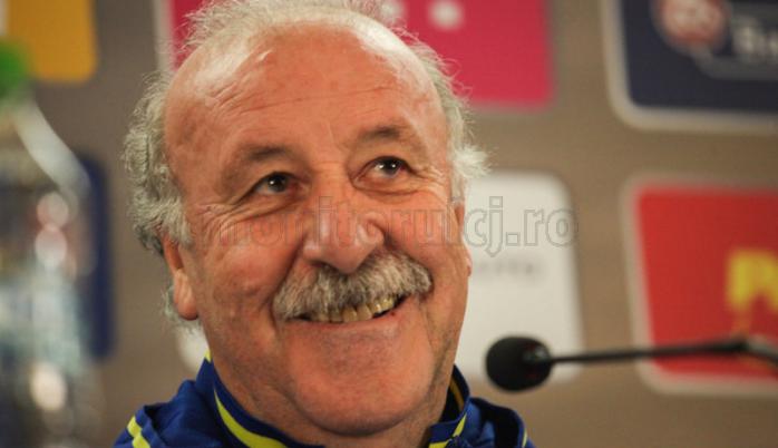 """Vicente del Bosque, antrenorul Spaniei: """"România este un adversar redutabil, bine organizat în apărare"""""""