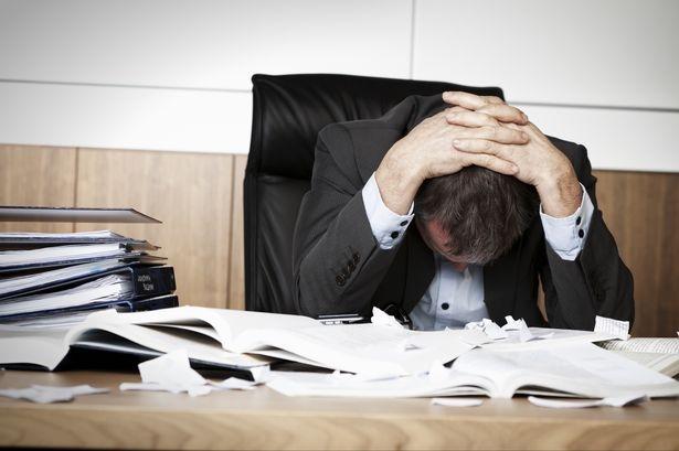 Stresul poate duce la apariţia anxietăţii sau a atacurilor de panică. sursa foto: www.walesonline.co.uk.