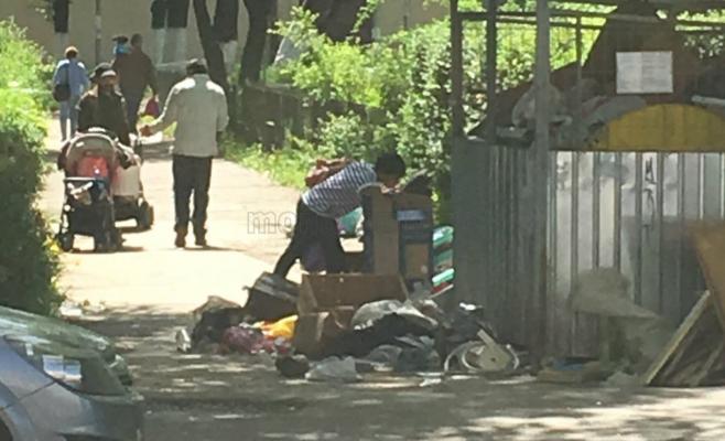 """""""Taxă"""" de trecere, impusă de un cerșetor în cartierul Gheorgheni"""