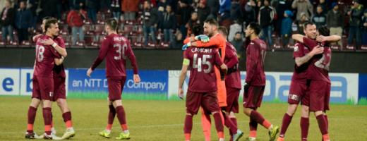 CFR Cluj, la un pas de finala Cupei României