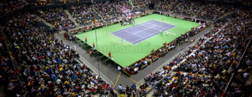 România-Spania, în Cupa Davis se joacă la Sala Polivalentă