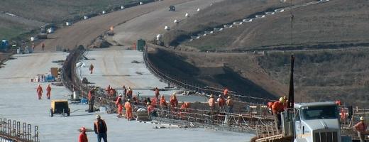 Lucrările la Autostrada Transilvania continuă spre vest