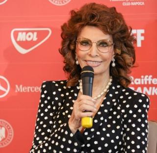 Sophia Loren la Cluj