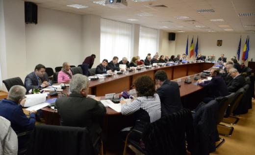 Ultima ședință de Consiliu Județean în vechea formulă