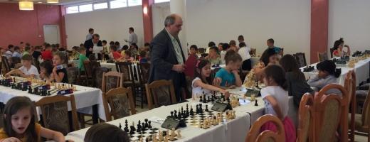 Concurs de șah pentru copii de 6 ani