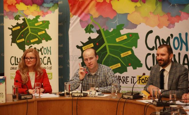 Lansare proiect ComOn Cluj-Napoca, foto Saul Pop