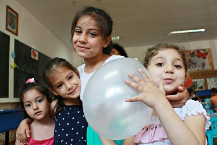Grădiniţă de vară pentru copiii defavorizaţi din Cluj
