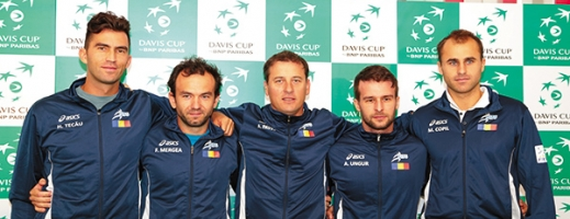 Echipa de Cupa Davis a României pentru meciul cu Spania a fost anunțată oficial