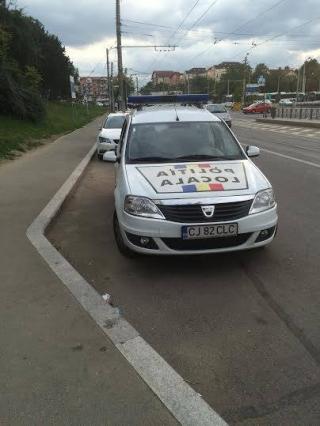 În Cluj, primii care nu respectă legea sunt poliţiştii locali