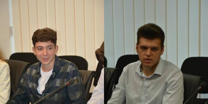 Radu Andreescu (foto stânga) şi Raul Oltean (foto dreapta)