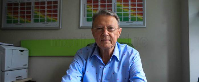 Prof. dr. Nicolae Hâncu vorbeşte despre rolul stilului de viaţă. Foto Saul Pop