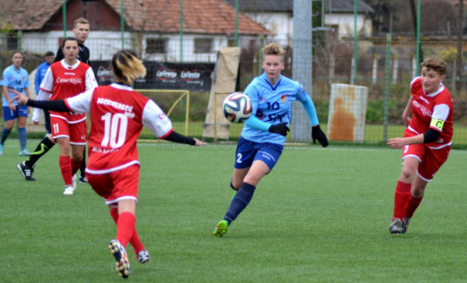 Echipa de fotbal feminin Olimpia Cluj se extinde. Caută jucătoare noi, din rândul elevelor