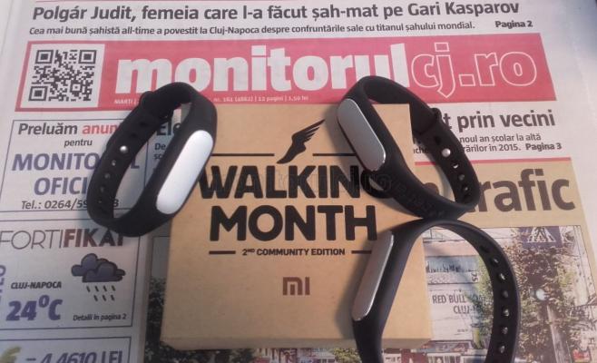 Monitorul de Cluj s-a înscris în campania Walking Month. Ajutăm copiii care nu pot să păseaşcă