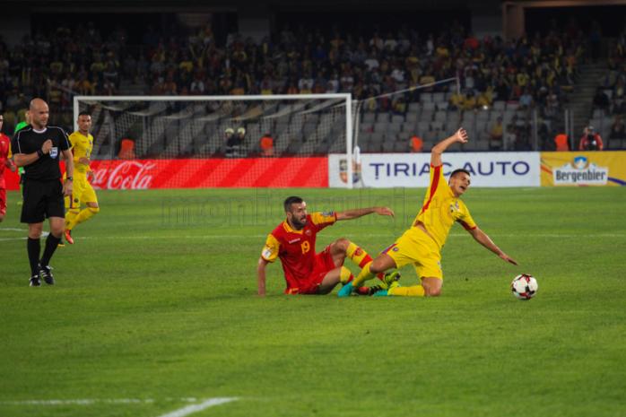 Romania a incheiat la egalitate meciul cu Muntenegru. Foto Saul Pop