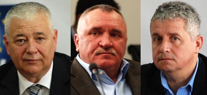 Marius Nicoară, Marius Mînzat și Daniel Buda
