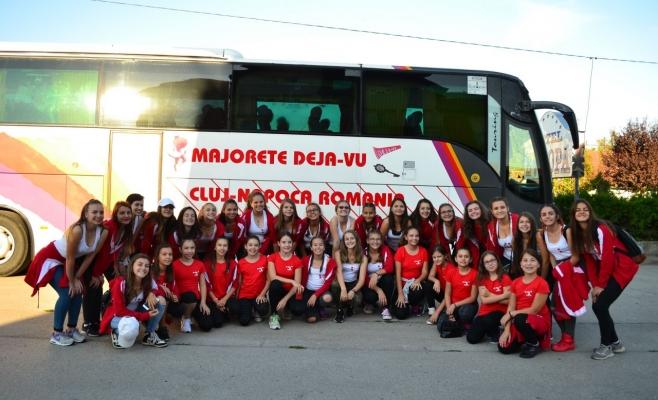 Majoretele de la Liceul Avram Iancu din Cluj au obţinut titlul de campioane europene