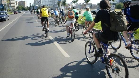 Abaterile bicicliştilor, a treia cauză a accidentelor grave