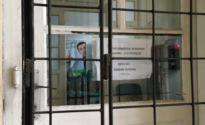 Adrian Gurzău a fost schimbat din funcţia de preşedinte al PMP Cluj