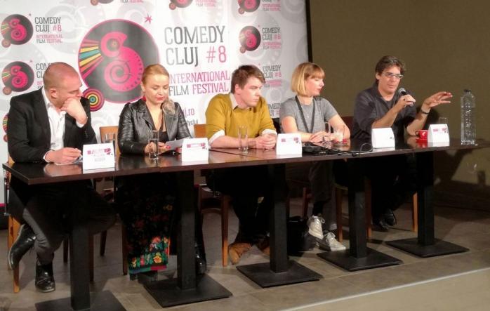 Florian Mischa Boder, Domnica Cîrciumaru, Ronan Doyle, Sophie Freeman și Carl Haber sunt cei care decid cele mai bune filme la Comedy Cluj 2016.