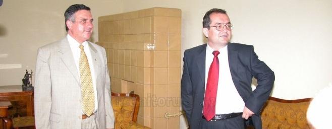 Emil Boc si Gheorghe Funar foto Monitorul