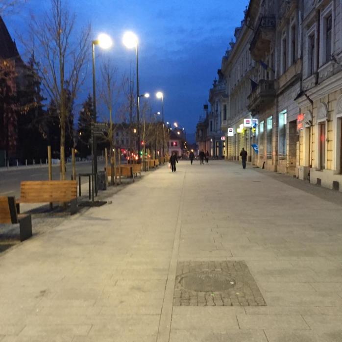 Piata Unirii foto facebook Emil Boc