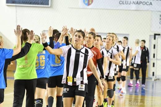 FOTO Silviu Cristea / Facebook U-Cluj Handbal Feminin