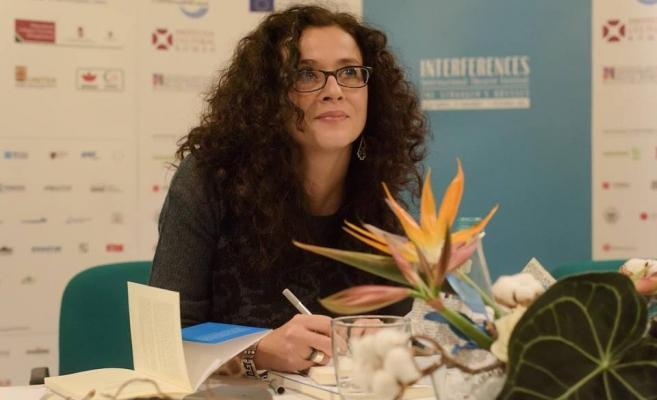 Cristina Modreanu şi-a lansat recent ultima sa carte la Cluj. FOTO Festivalul Interferenţe