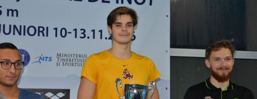 Înotătorul Robert Glinţă (în galben) este cel mai bun sportiv de la
