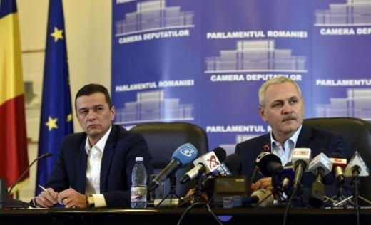 Liviu Dragnea şi Sorin grindeanu