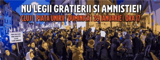 protest legea gratierii