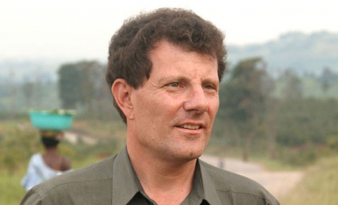 Nicholas Kristof este câştigător a două premii Pulitzer