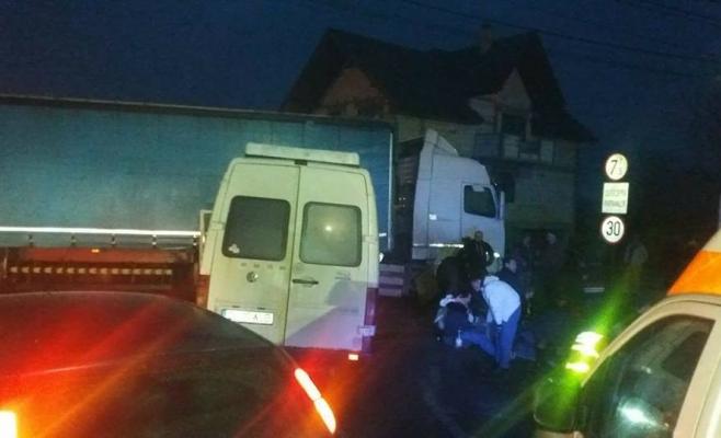 Accident Răscruci, sursa foto: Facebook, centrul INFOTRAFIC