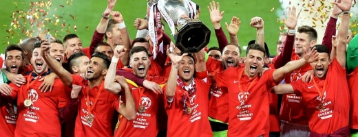 CFR Cluj a câștigat în 2016 Cupa României