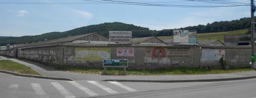 Activitatea fermei este momentan sistată. FOTO radiocluj.ro